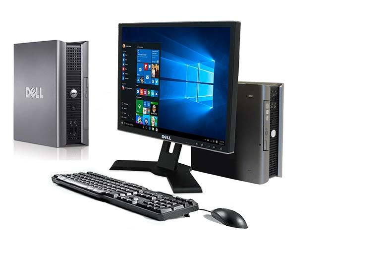 "£149 instead of £399 (from CRS) for a Grade A refurbished Dell Optiplex USFF Dual-Core with keyboard, mouse and 17"" monitor - get online and save 63%"