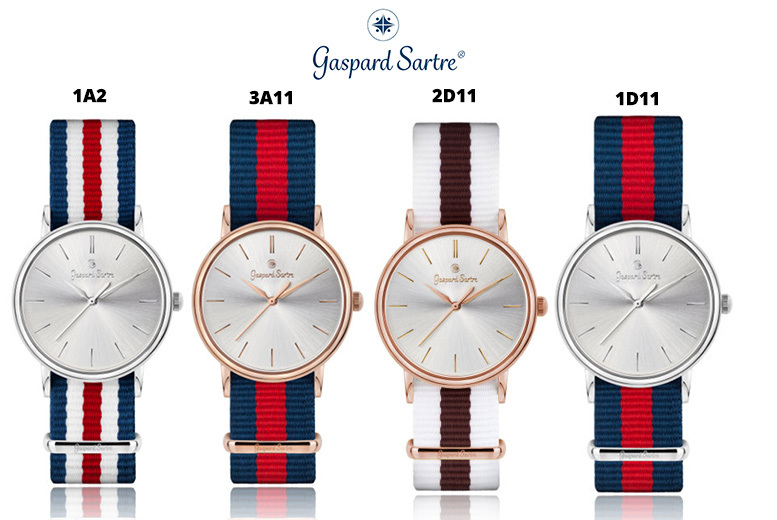 Gaspard Sartre 'La Variée' Ladies Watch - 10 Designs!