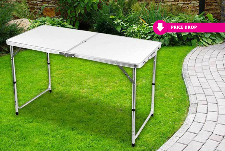 4ft Folding Family Picnic Table