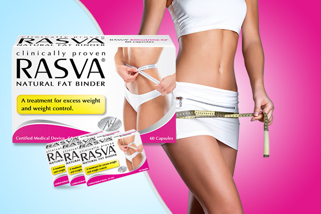 £11.49 instead of £24.95 (from Rasva®) for 60 capsules, £21.99 for 120, or £29.99 for 180 - save up to 54%