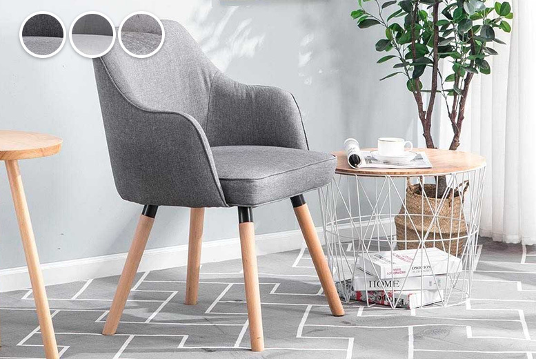 Hopton Accent Chair - 3 Colours!