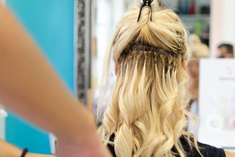 Luxury Micro Ring Hair Extension Treatment Essex Kent London