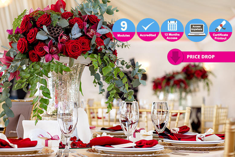 Accredited Event Design & Styling Course