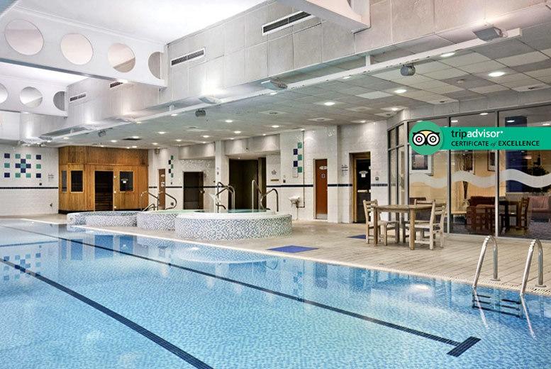 Spa Day, 2 Elemis Treatments & Food Voucher @ Hilton Strathclyde