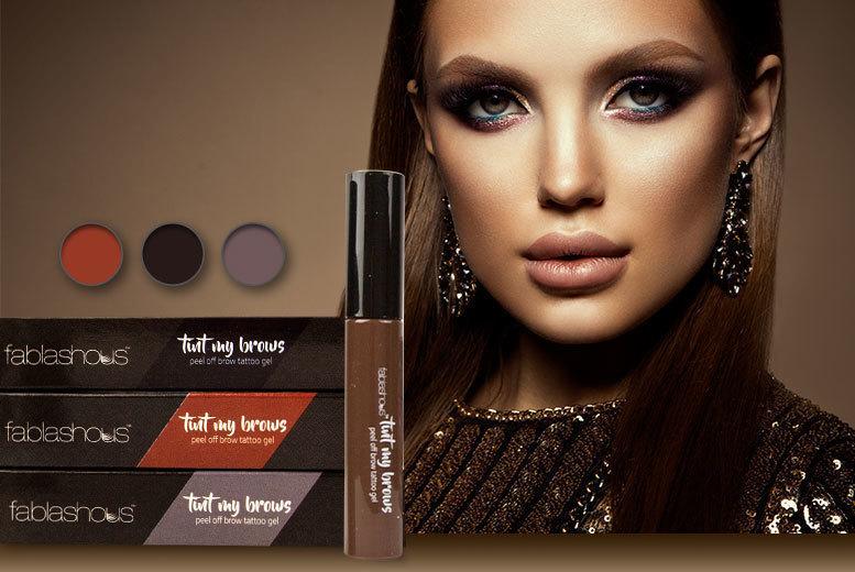 2 x Fablashous Peel-Off Eyebrow Tint Gels – 3 Colours! for £5
