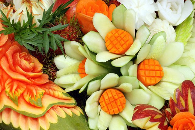 Fruit carving class for edinburgh wowcher