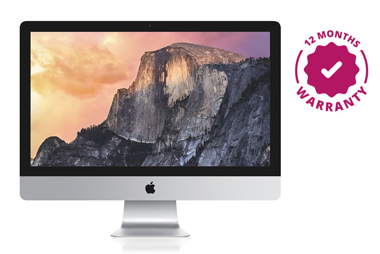 "Refurbished 21.5"" Apple iMac Core i5 500GB HDD – 2 Options! from £499"