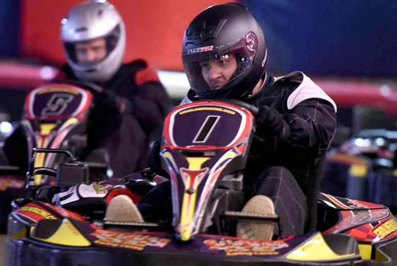 From £39 for a 30-minute go karting experience for one person, or £75 for two people from Buyagift!