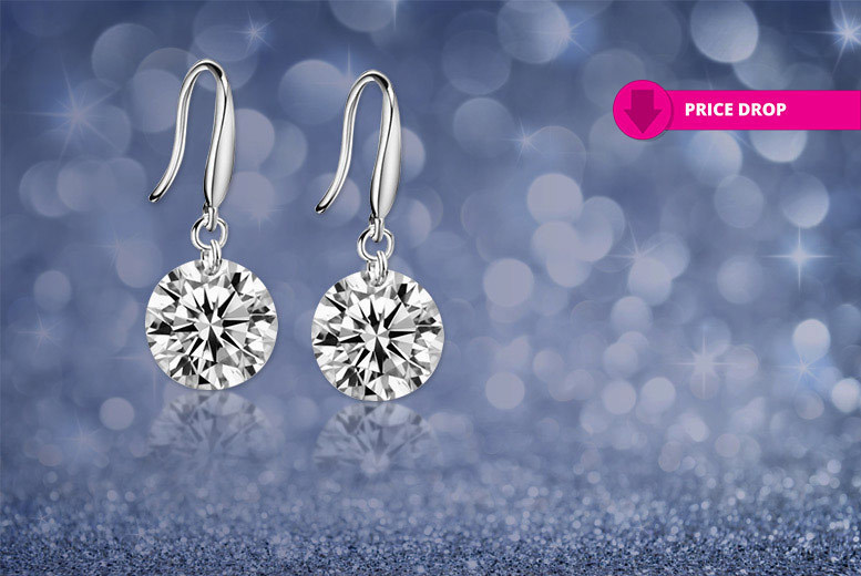 Drop Earrings Made With Crystals From Swarovski®