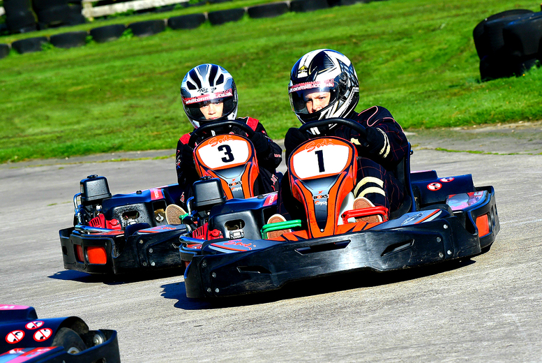 £20 instead of £32.50 for one hour of outdoor go karting with up to 30 laps for one person, £38 for two people or £75 for four people at Whilton Mill - save up to 38%
