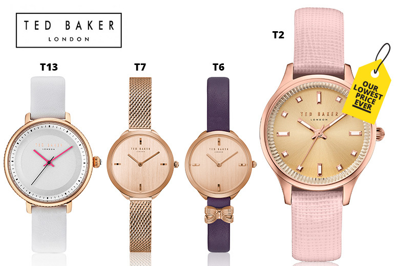 Ted Baker Ladies Watches - 17 Designs!