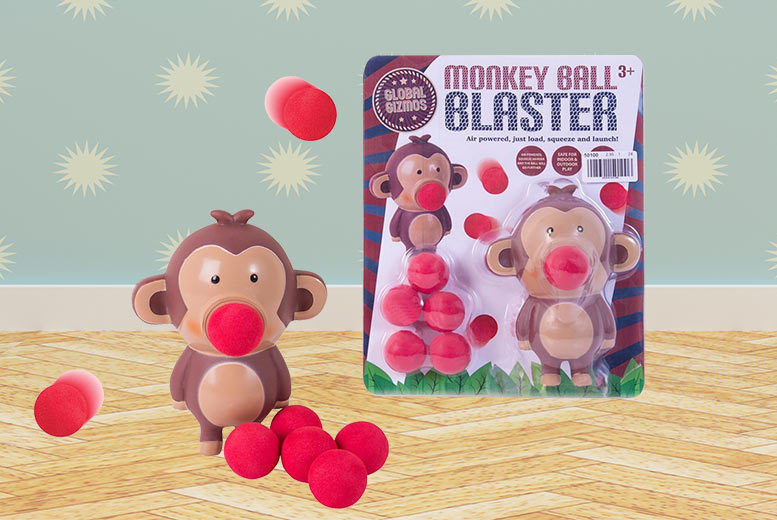 £5.99 instead of £19.99 for a monkey ball blaster game from London Exchain Store - save 70%