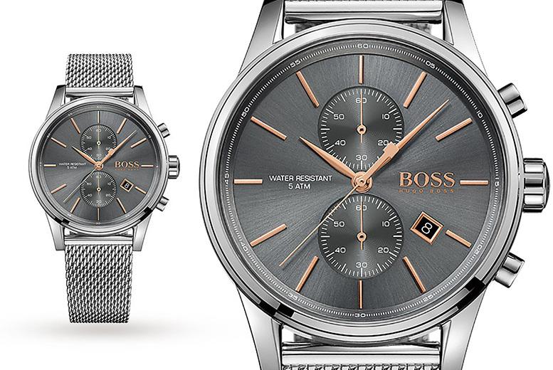 Mens Hugo Boss HB1513440 Stainless Steel Watch