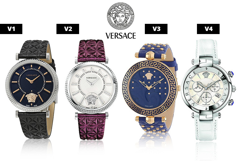 Ladies Versace Watch - 4 Designs!