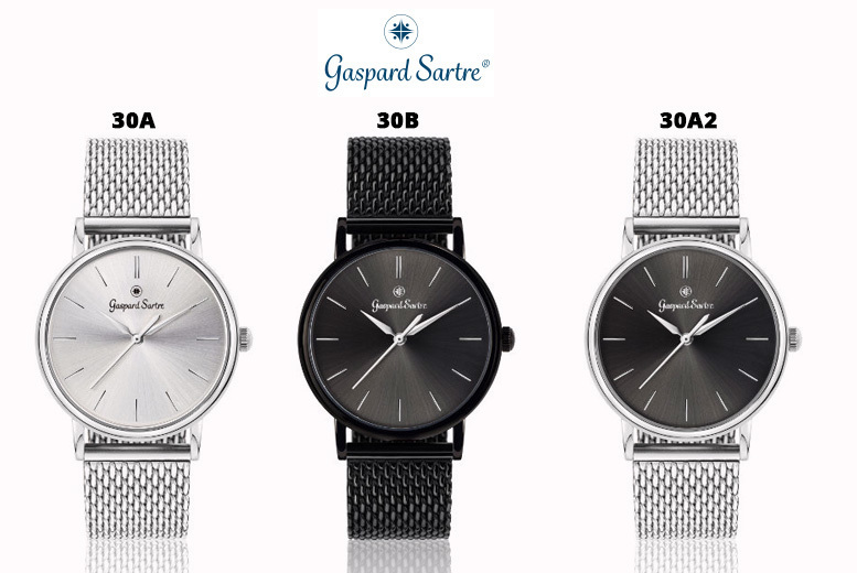 Gaspard Sartre 'La Variée' Ladies' Watch - 3 Designs!