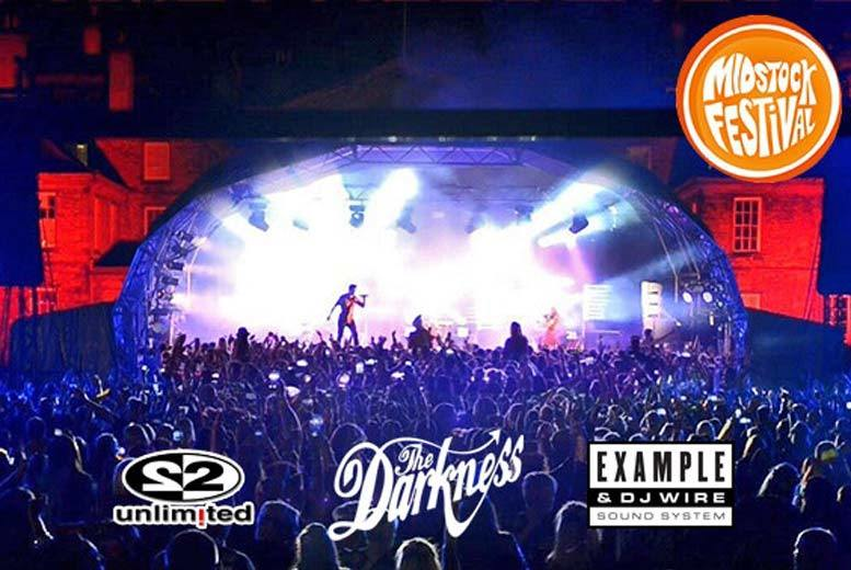 Midstock Festival Tkt - The Darkness, Example, 2 Unlimited & More!