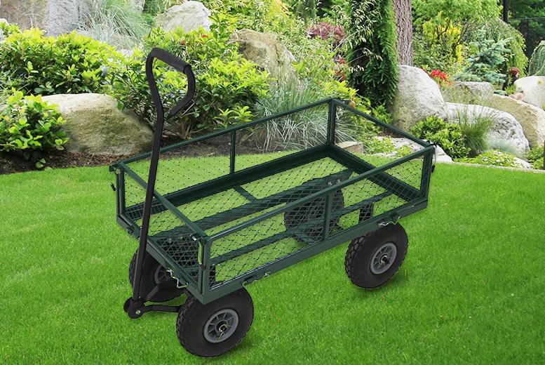 Heavy-Duty Garden Trolley