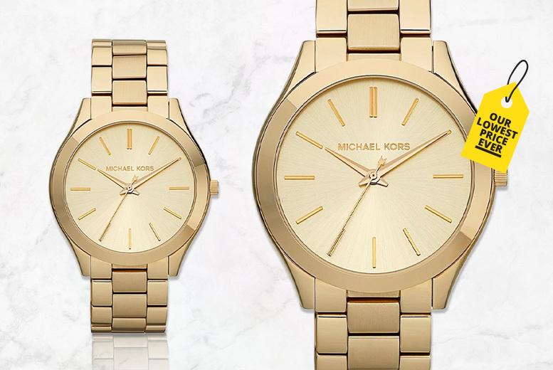 Michael Kors MK3179 Champagne Dial Ladies Watch
