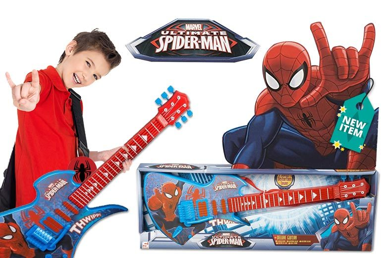 Marvel's Spider-Man Deluxe Kids' Guitar