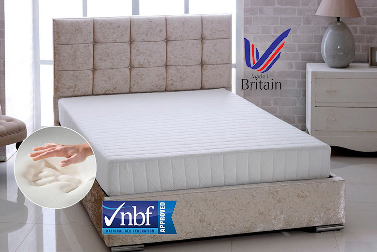Bonnell Sprung Memory Foam Mattress