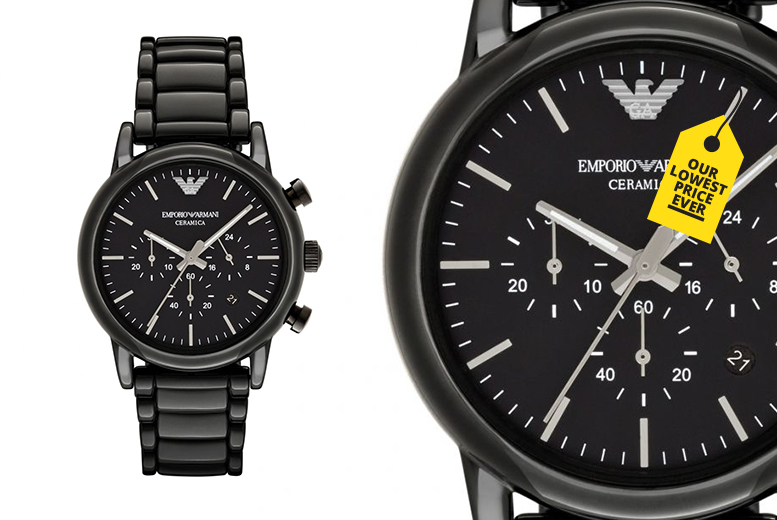 Emporio Armani AR1507 Men's Ceramic Watch