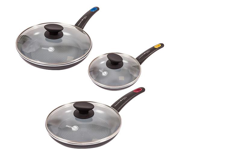 6-Pc Greenpan Non-Stick Cookware Set