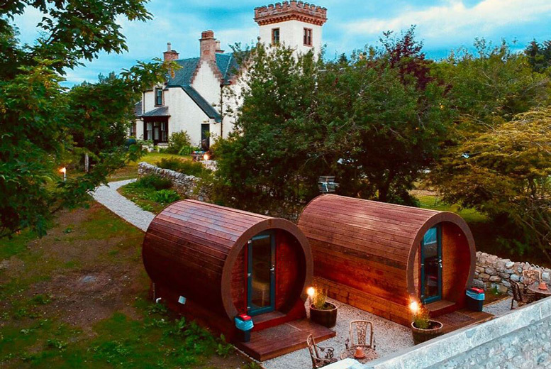 Glasgow: 2nt Scottish Highland Glamping For Up To 6 from £79