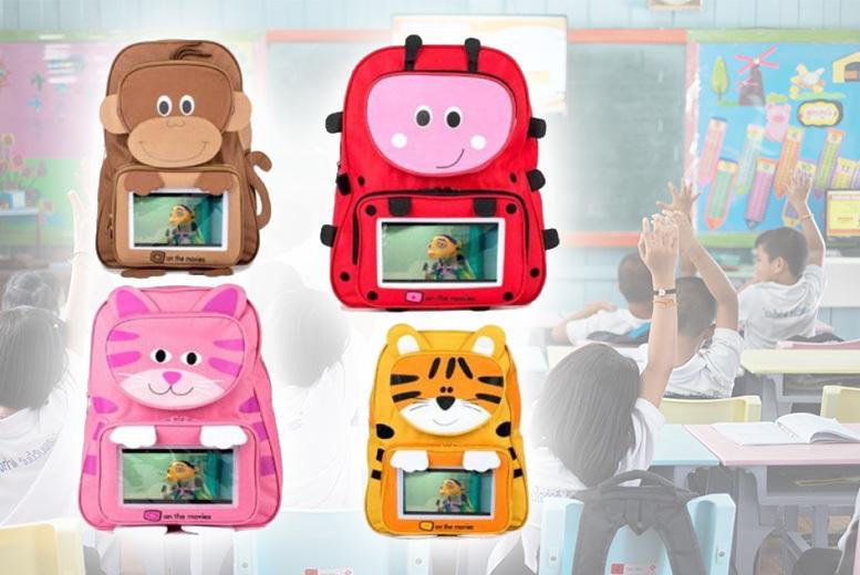 Kids' Animal Schoolbag - 4 Designs!
