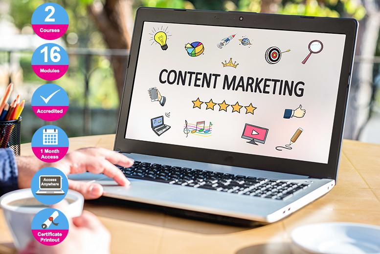 Social Media, Blogging & Marketing Bundle - 2 Accredited Courses!