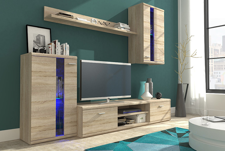 4pc Living Room Set – 2 Colours! from £199