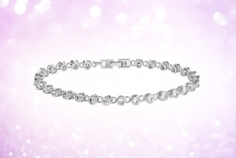 Crystal Bracelet Made With Crystals From Swarovski®