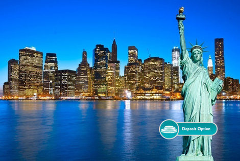 From £599pp (from ClearSky Holidays) for a six-night New York City and Las Vegas trip with return flights, or pay a £150pp deposit today!