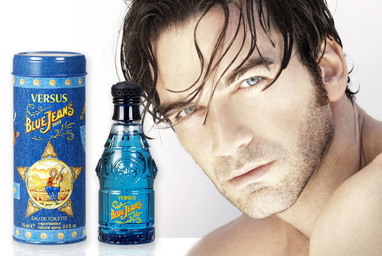 Image result for Versace Blue Jeans For Men 75ml