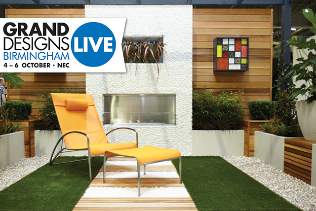 £15 instead of £30 for 2 day tickets to the Grand Designs Live show, 4th-6th Oct @ NEC, Birmingham - save 50%