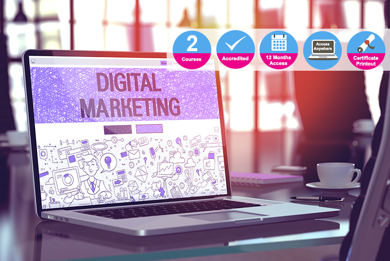 Viral & Digital Marketing Bundle - 2 Accredited Diplomas!
