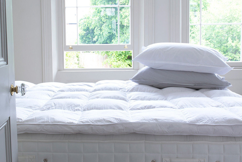 5cm Goose Feather & Down Mattress Topper - 5 Sizes!