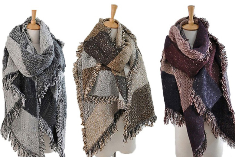 Oversized Fashion Scarf - 5 Colours!