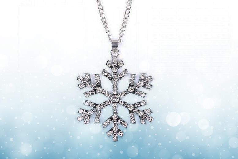Snowflake Crystal Necklace