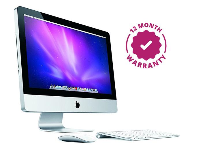 """Refurbished 21.5"""" Apple iMac Intel Core 2 Duo 250GB HDD 4GB RAM"""