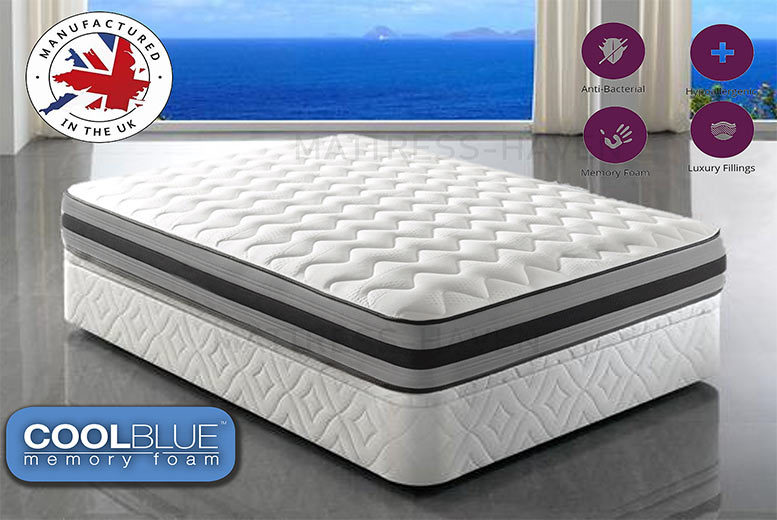 Deluxe 3000 Memory Pocket Sprung Mattress from £199