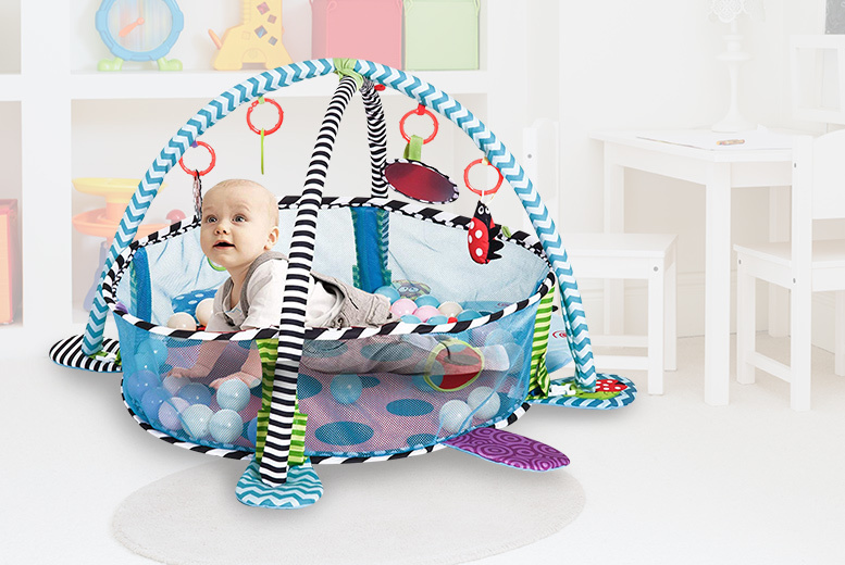 Baby Play Mat With Mesh Walls
