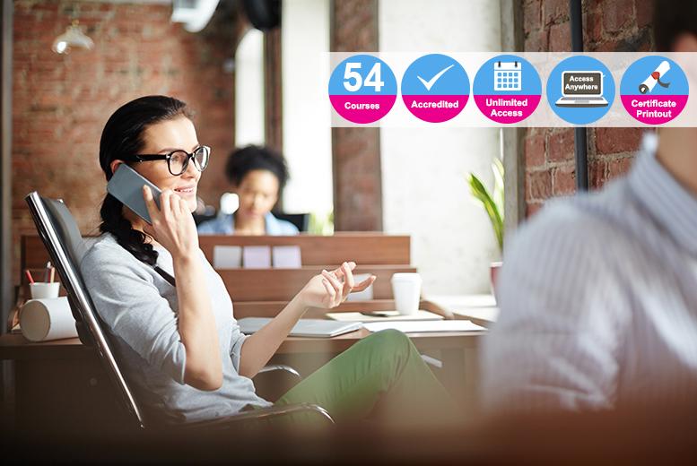 Ultimate Business, HR & Professional Skills Bundle - 54 Courses!
