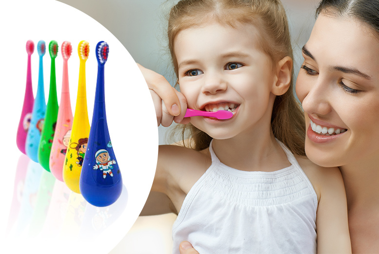 Rockabilly Kids Stand-Up Toothbrush Collection – Bumper Pack! for £9.99