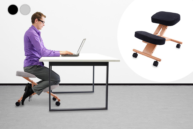 Wooden Kneeling Ergonomic Chair for £39