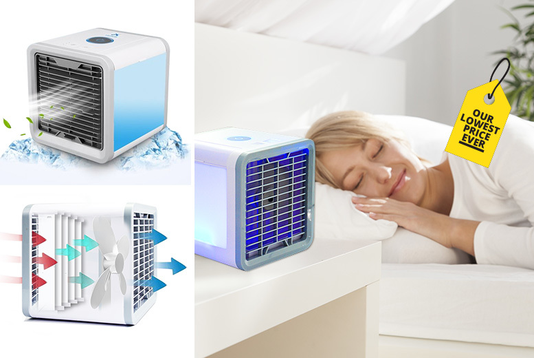 Portable USB Tabletop Air Cooler