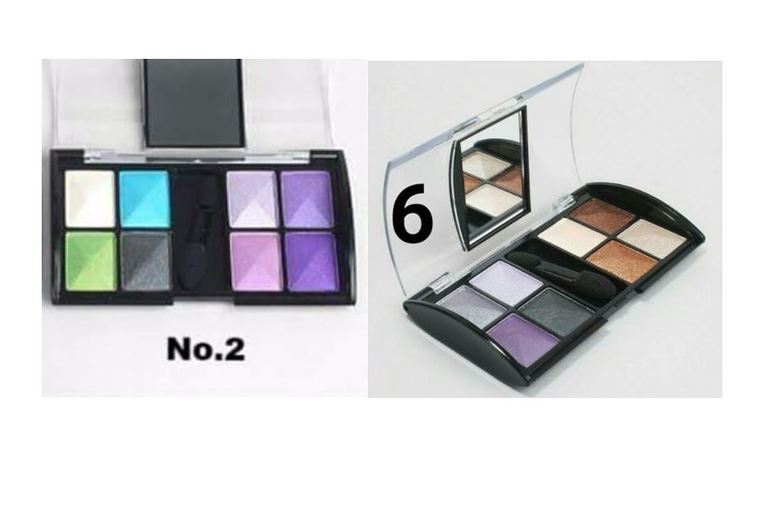 Compact Mirror Eyeshadow Palette - 2 Shade Options!