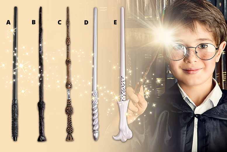 Harry Potter-Inspired Wand - 5 Designs!