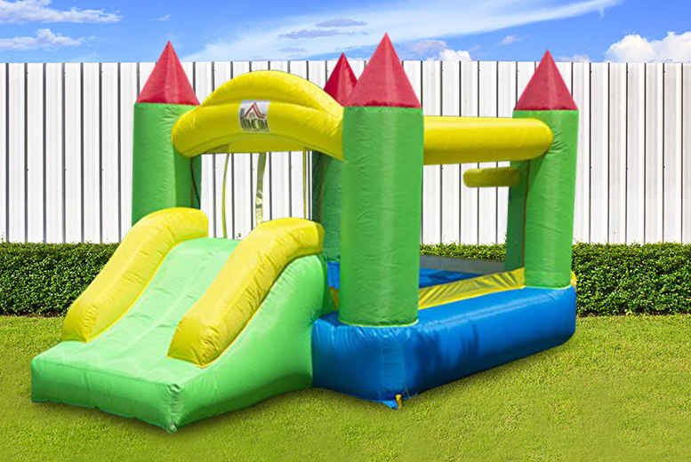 Inflatable Kids Bouncy Castle & Blower