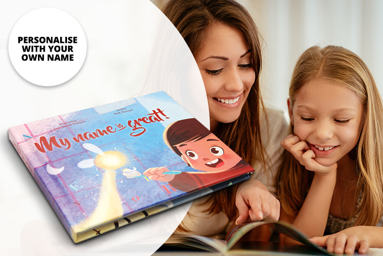 Personalised Softcover Children's Book