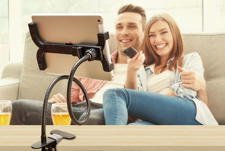 360 Degree Clamp Tablet Holder